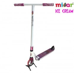 Трюковой самокат Micar ICE CREAM White-pink (Арт. M-802)