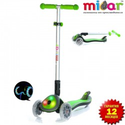 Самокат Scooter Maxi Micar Cosmo Зелёный (Арт. RO211)