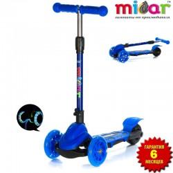 Самокат Scooter Mini Micar Zumba Синий (Арт. TC08)