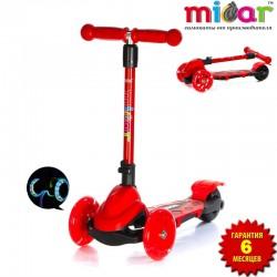 Самокат Scooter Mini Micar Zumba Красный (Арт. TC08)