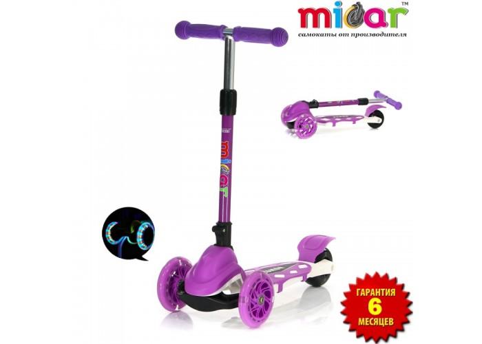 Самокат Scooter Mini Micar Zumba Фиолетовый (Арт. TC08)